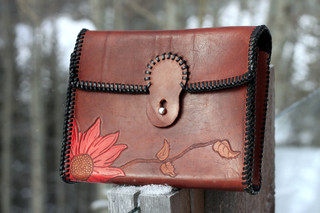 Flask Saddle Bag