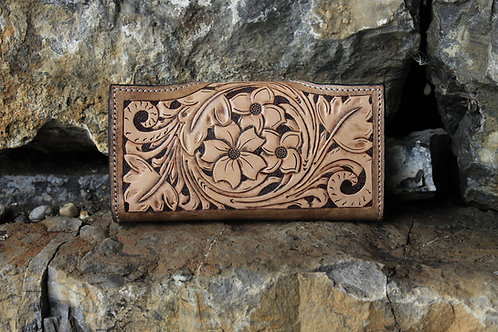 Flowed wallet - Tooled