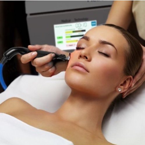 Tratamiento diatermia lifting facial + máscara LED