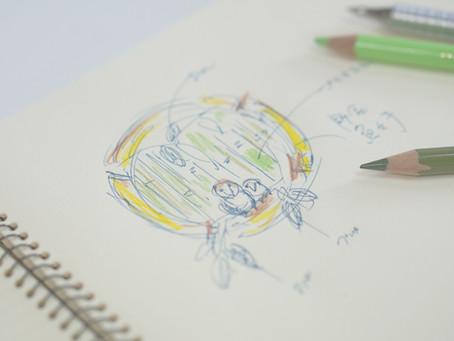 「竹に雀」2