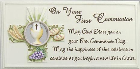 Communion prayer