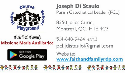The Contact Infromation for Joseph Di Staulo