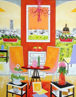 Le salon orange