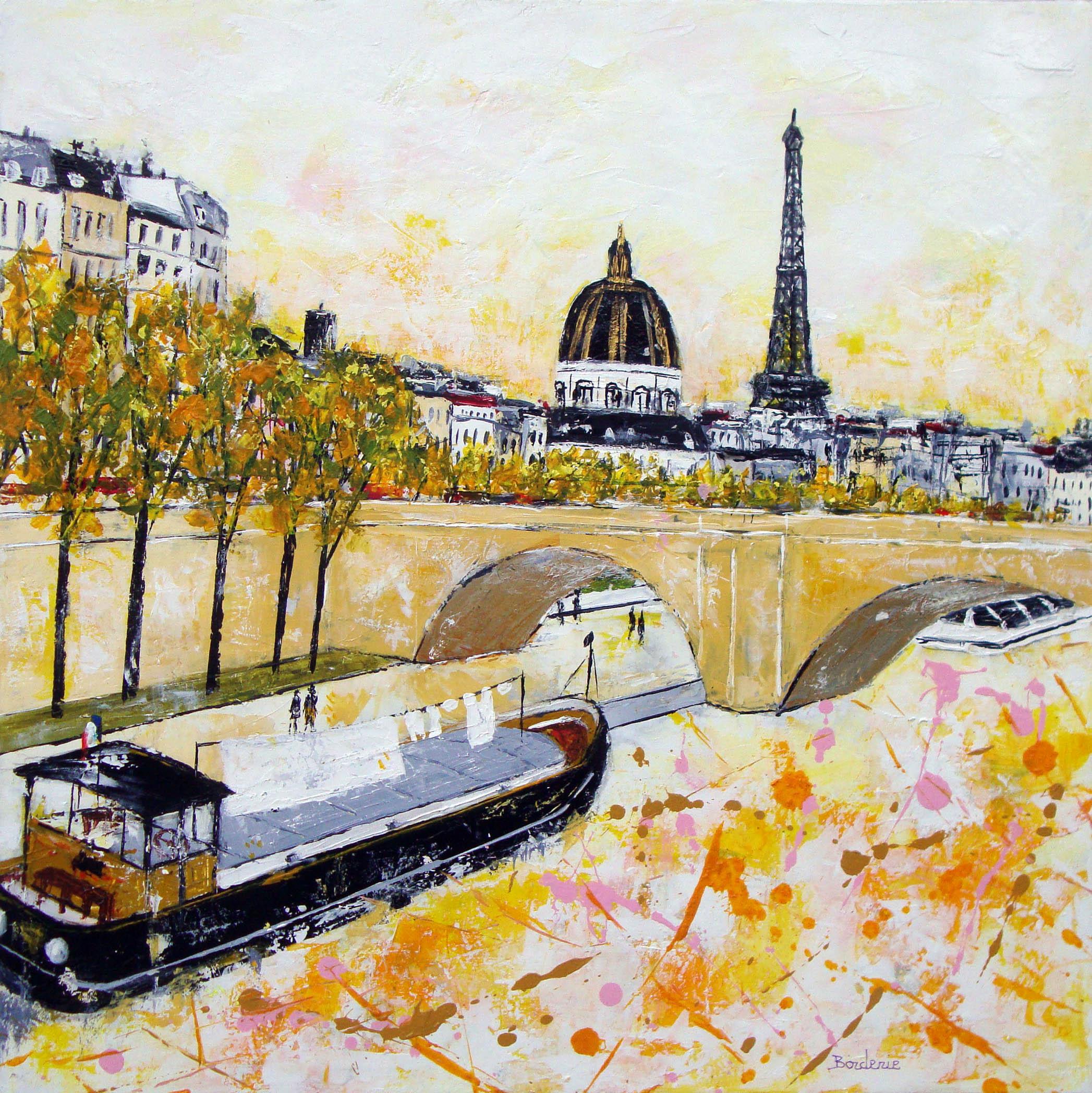 La Tour Eiffel et l'Institut de France v