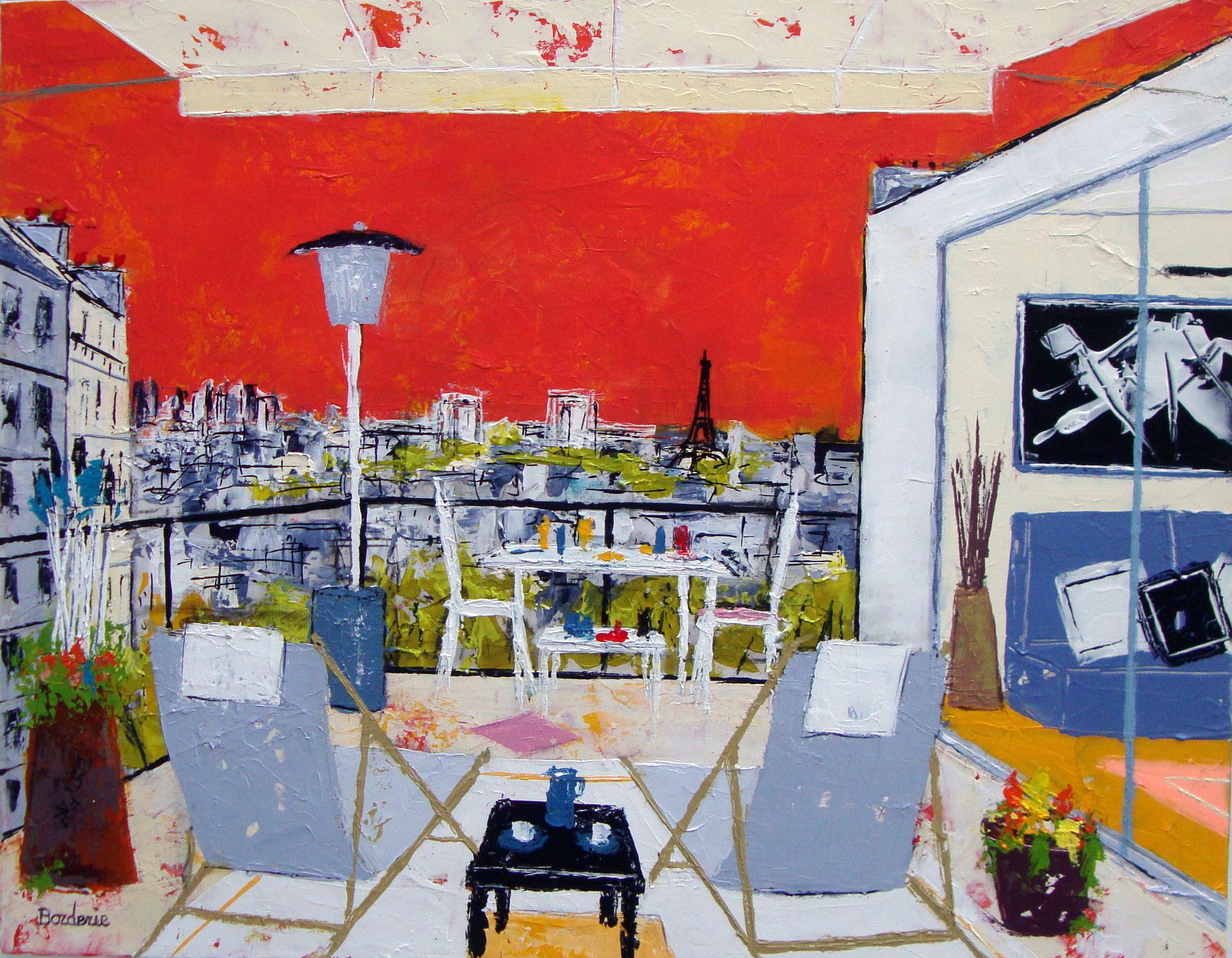 Un soir d'été sur la terrasse_12F