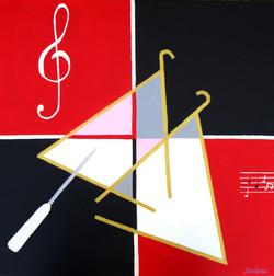 Les deux triangles.