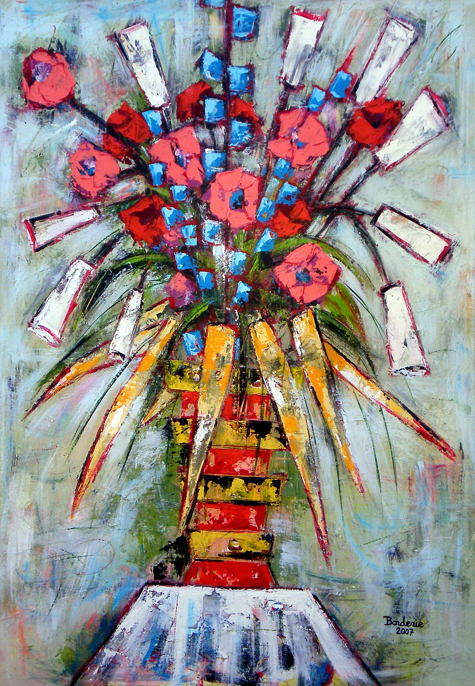 Le grand bouquet.