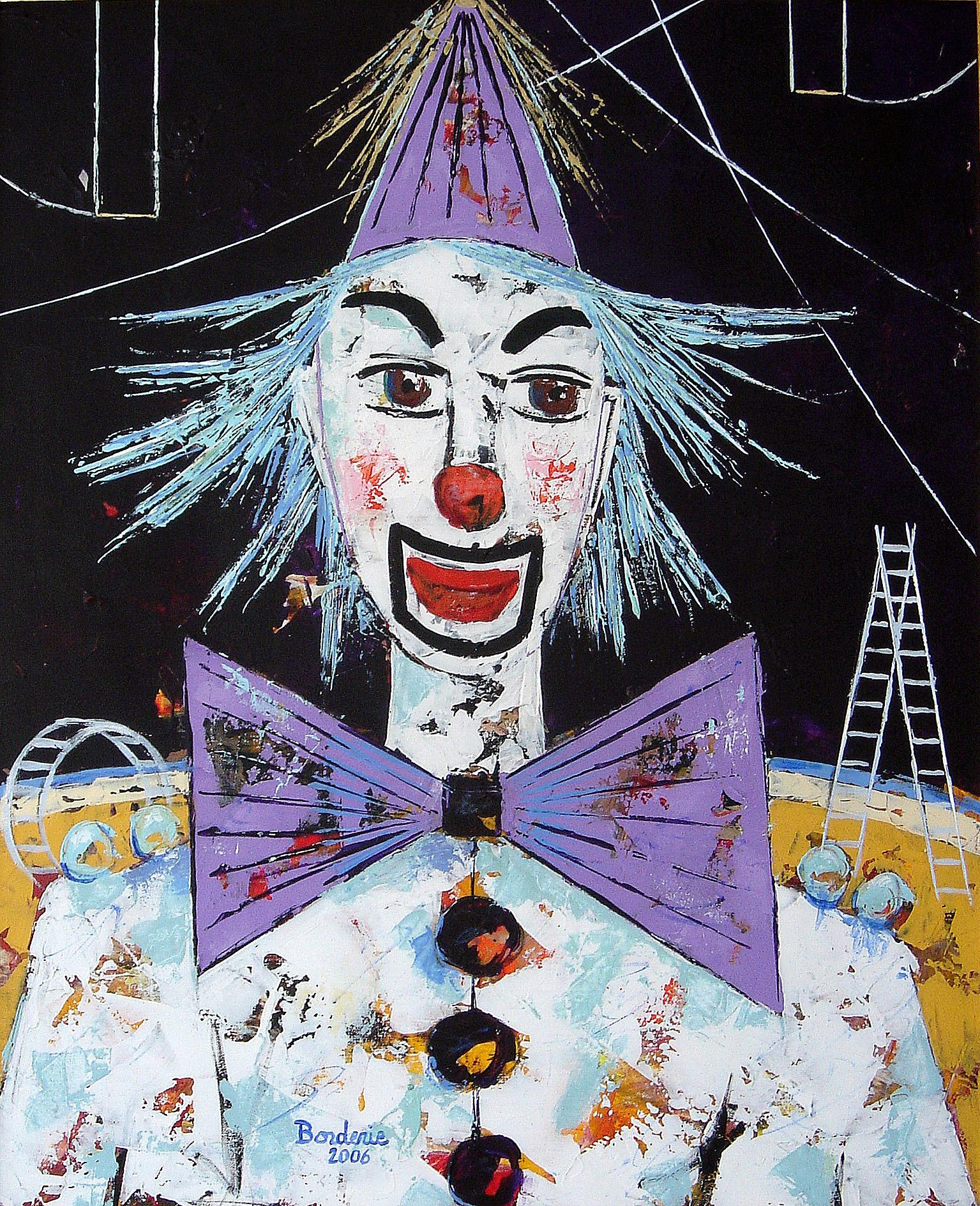 Le clown blanc.