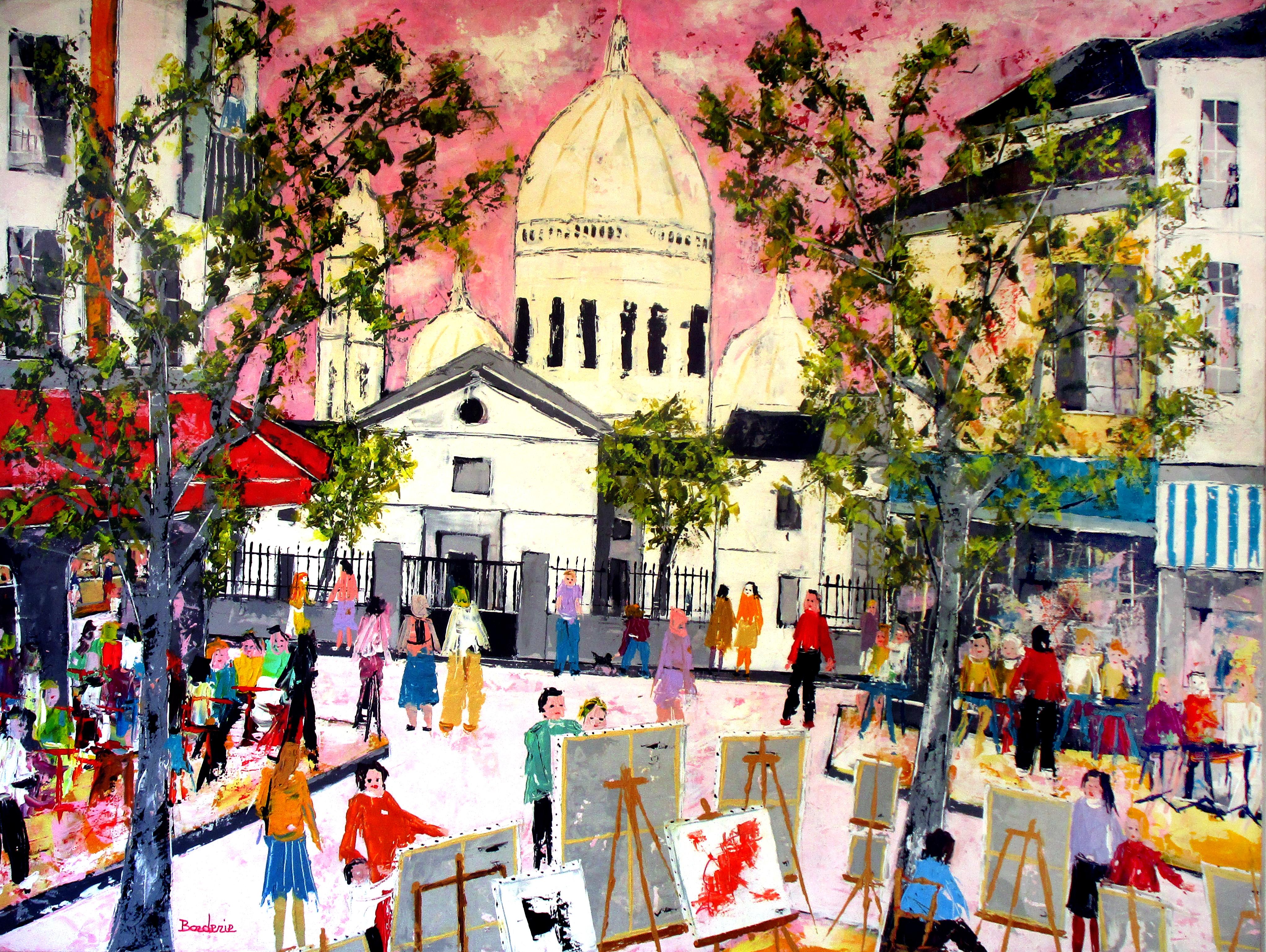 Place du Tertre-Paris est une fête