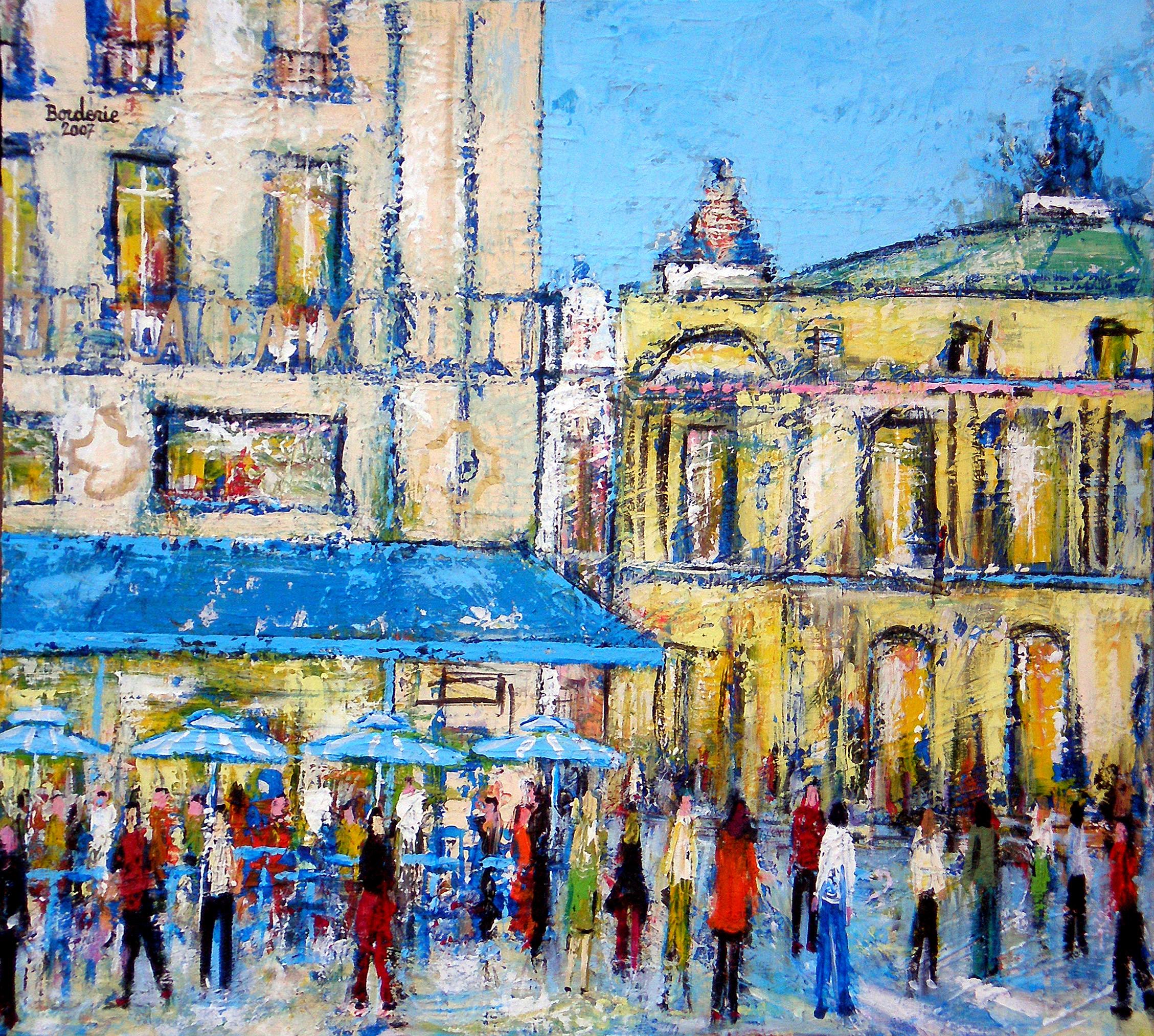 Café de la Paix à l'Opéra.