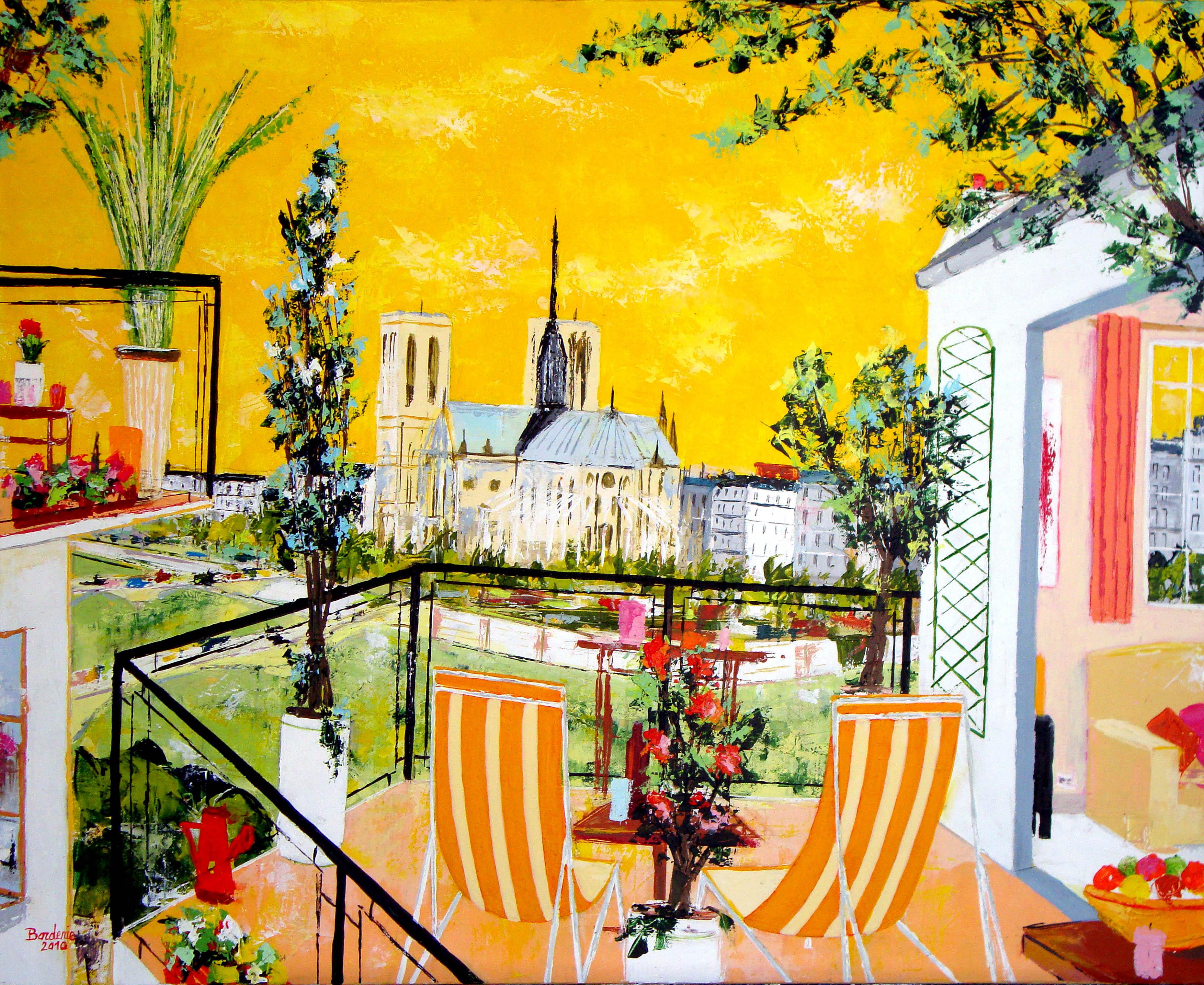 Terrasses de Paris.
