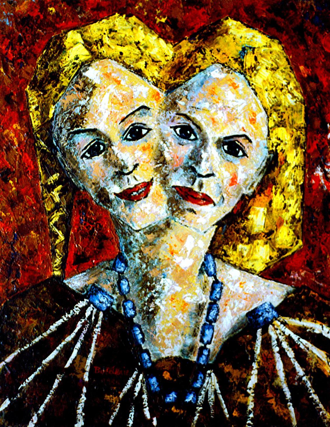 Femme à deux visages