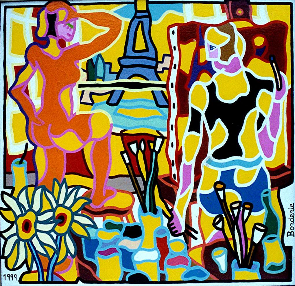 Le peintre et son modèle.