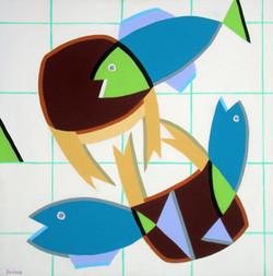 Les trois poissons et les deux crabes 60