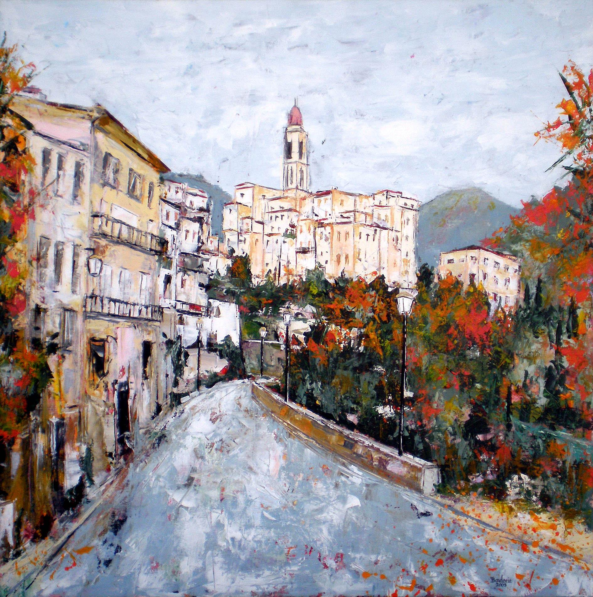 Petit village des Alpes Maritimes. L