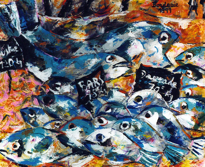 L'etal de poissons.