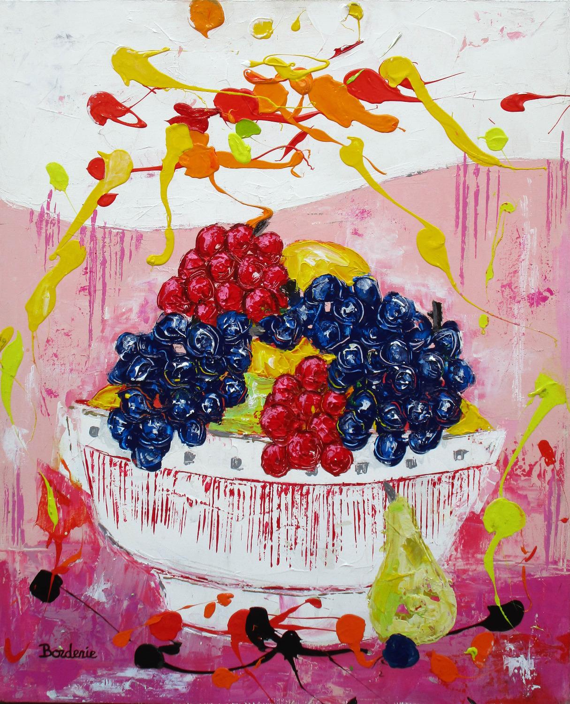 Corbeille de fruits.