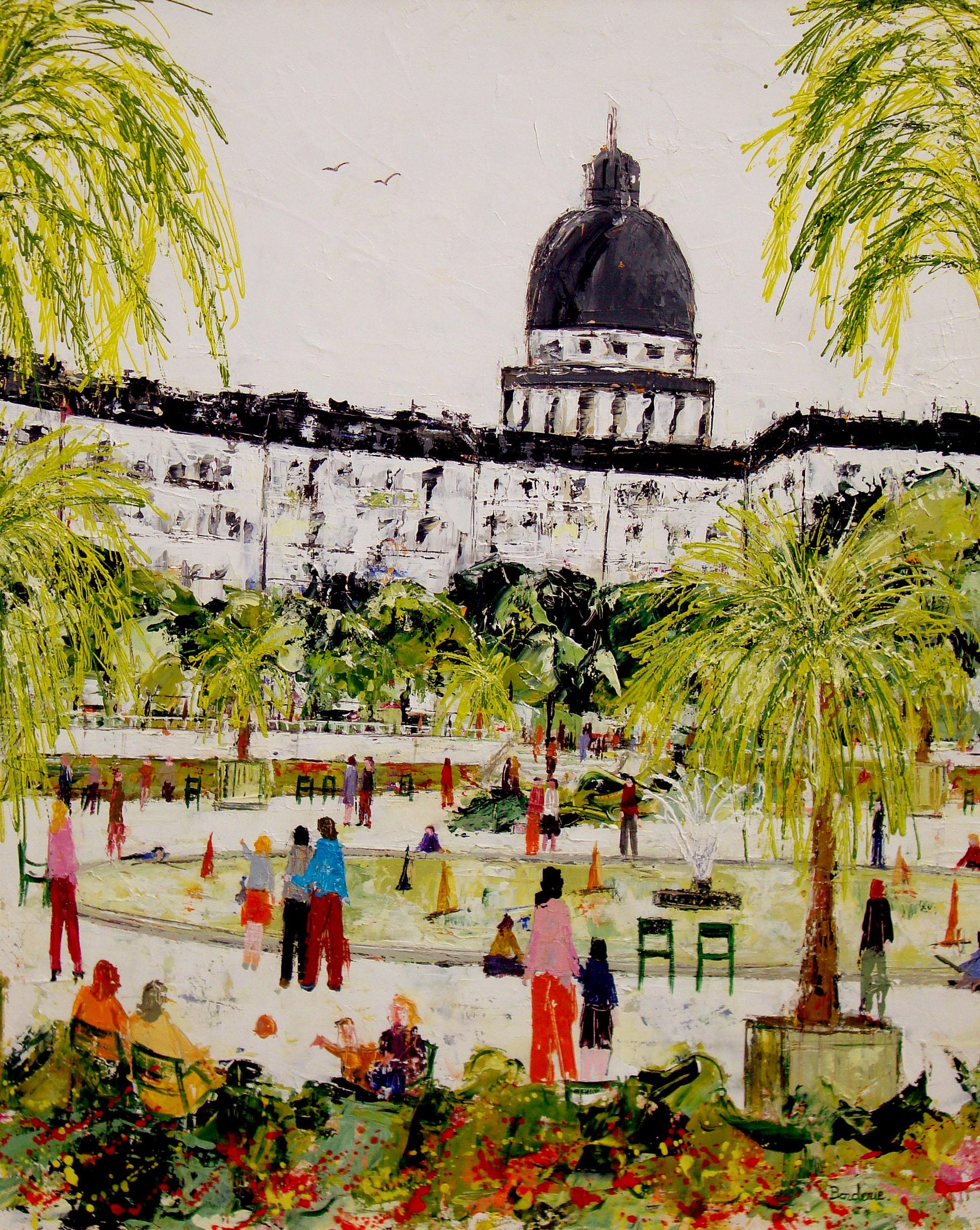 Les palmiers du jardin du Luxembourg
