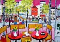 Café Place Blanche.