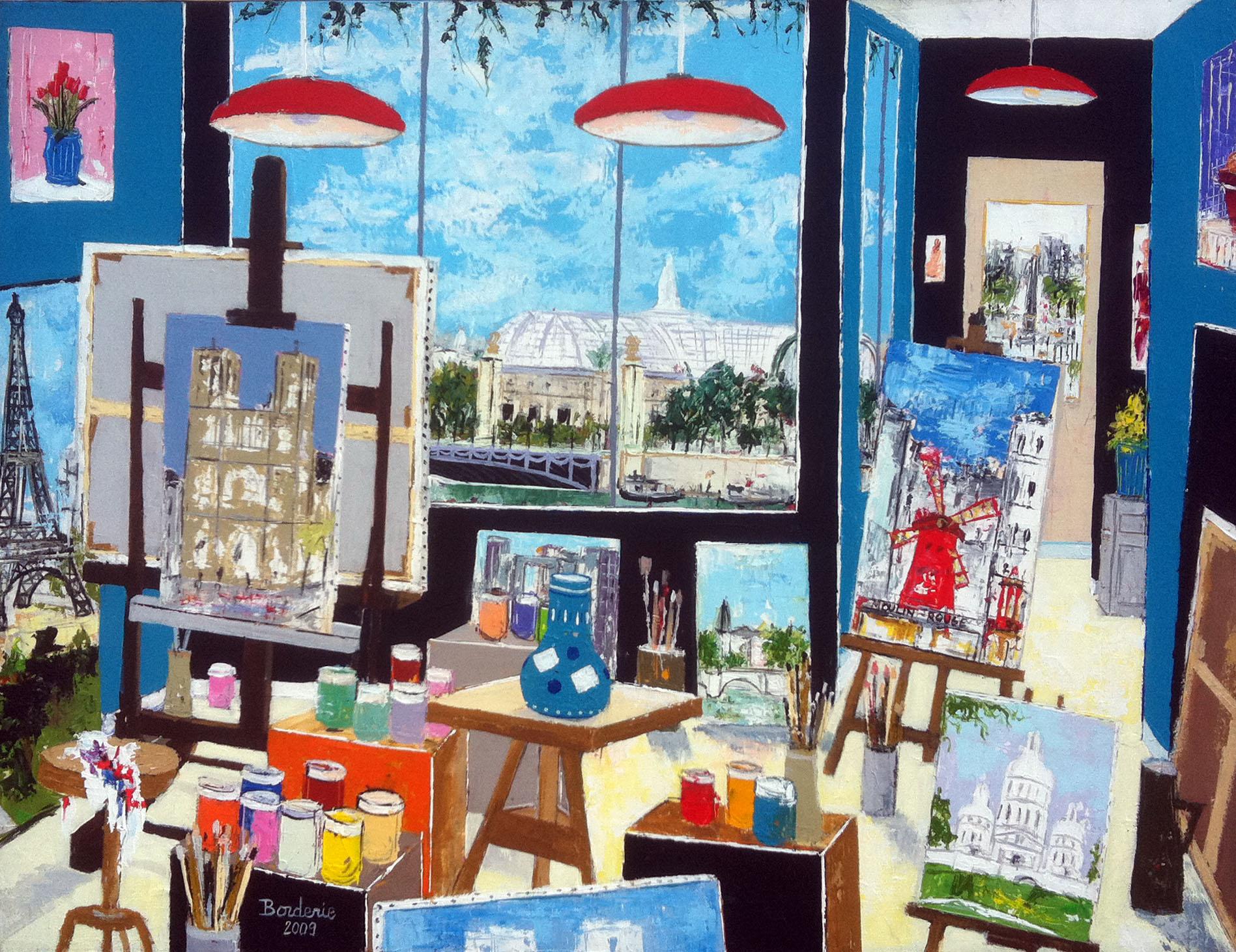 L'atelier du Grand Palais de Paris.