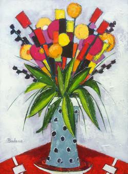 Bouquet multicolor.