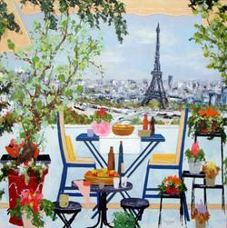 Terrasse fleurie sur la Seine 100X100.jpg
