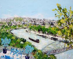 Boucle de la Seine 73X60