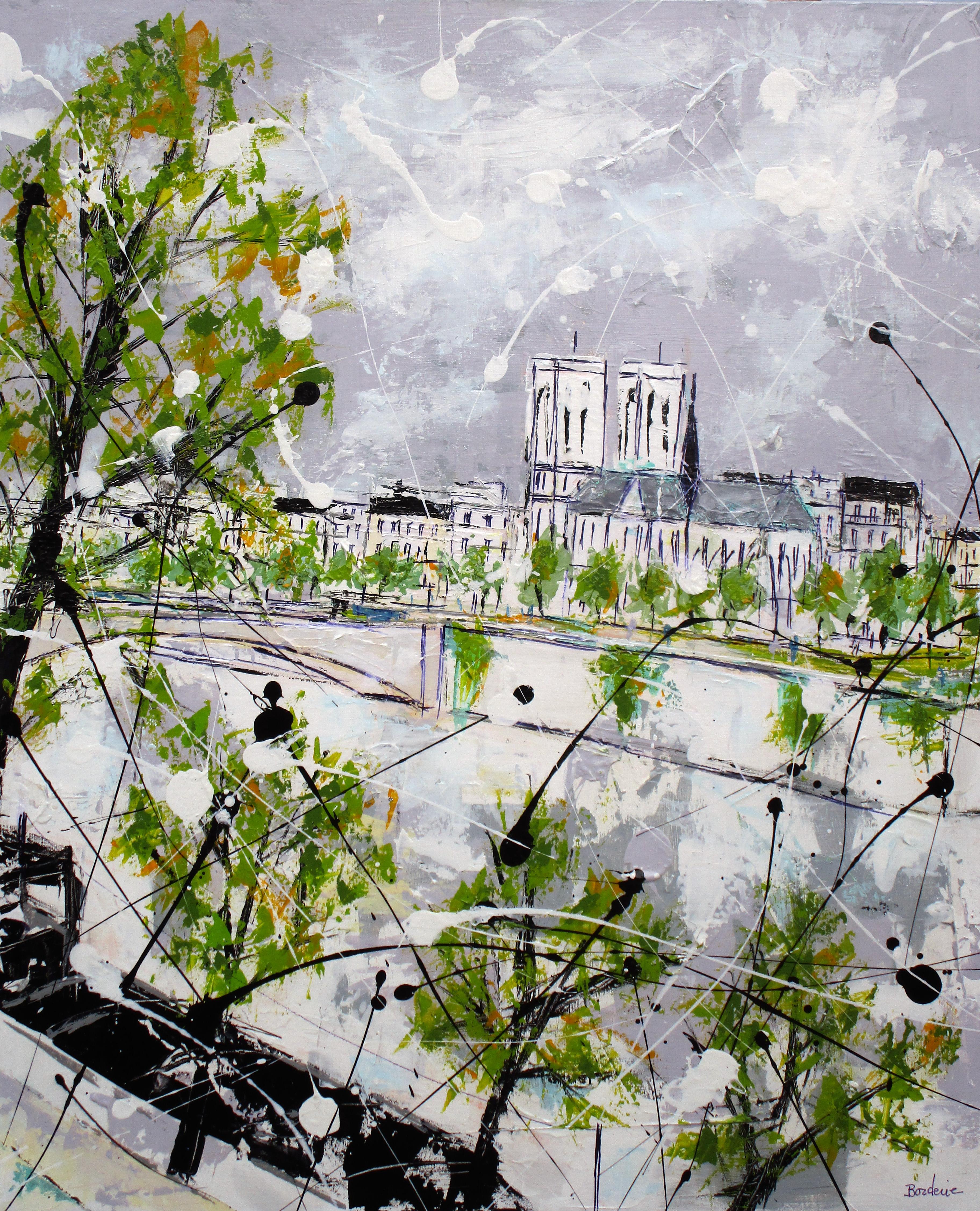 Quai de Seine à Notre Dame