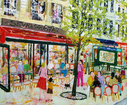 Café au métro Sèvres-Babylone