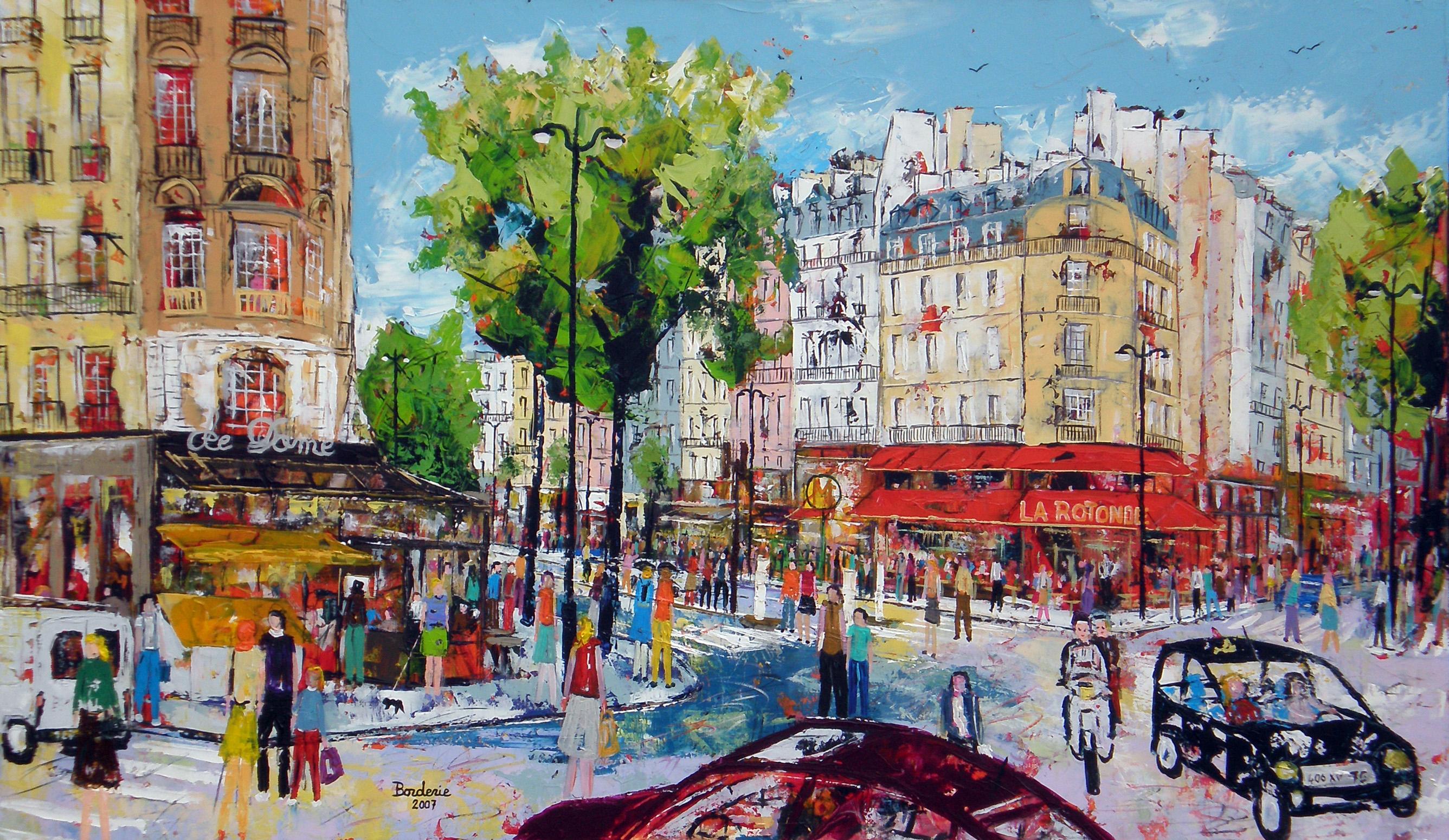 Place Pablo Picasso ou Carrefour Vavin