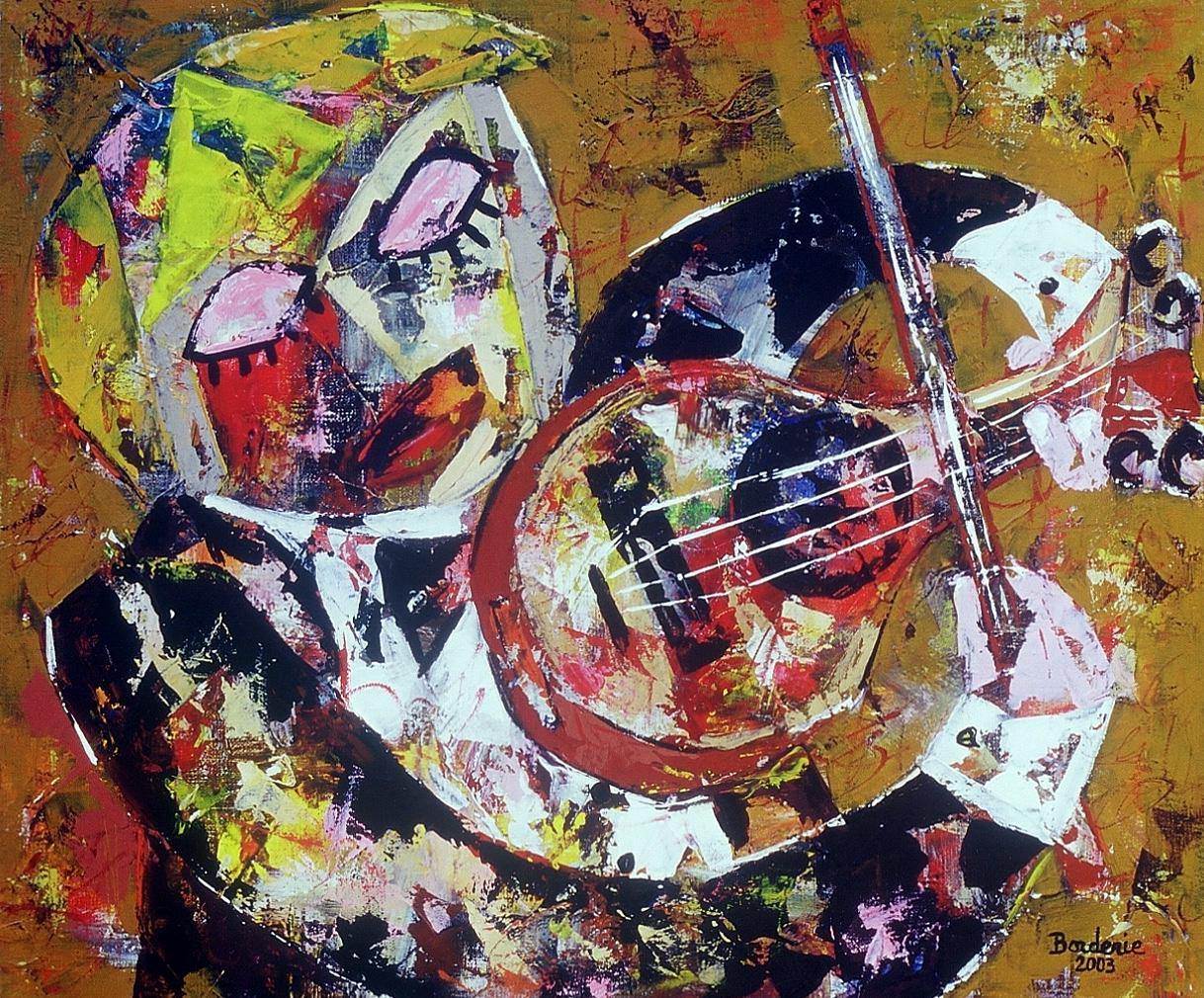 Le violoniste.