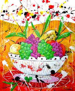Les fruits dans la corbeille - Copie