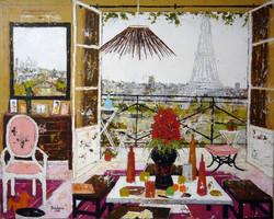 De la Tour Eiffel à Montmartre.