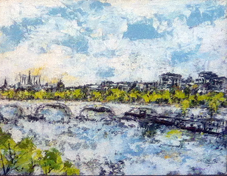 Pont Royal. 65X54 (2011)