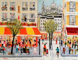 Scène de rue à Paris 30F 1 (2)
