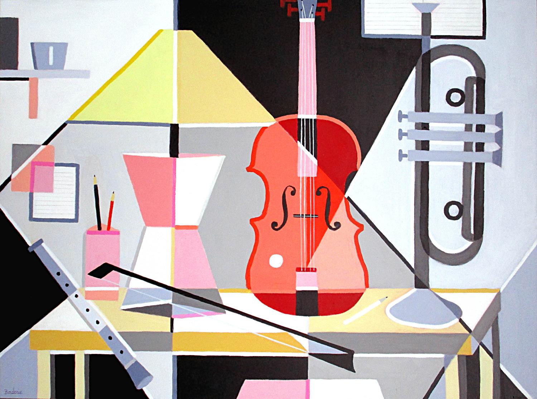 Le violon rouge.