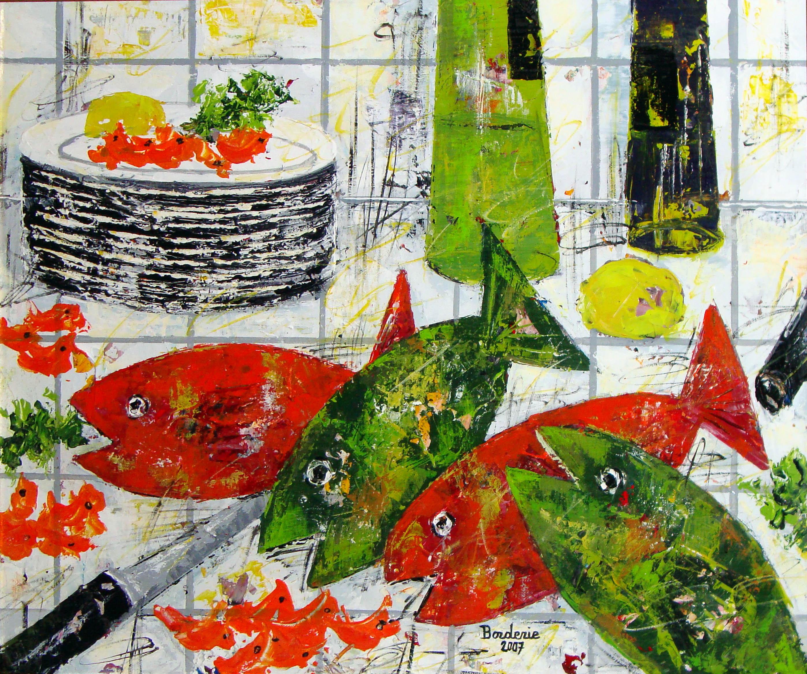 Les quatre poissons