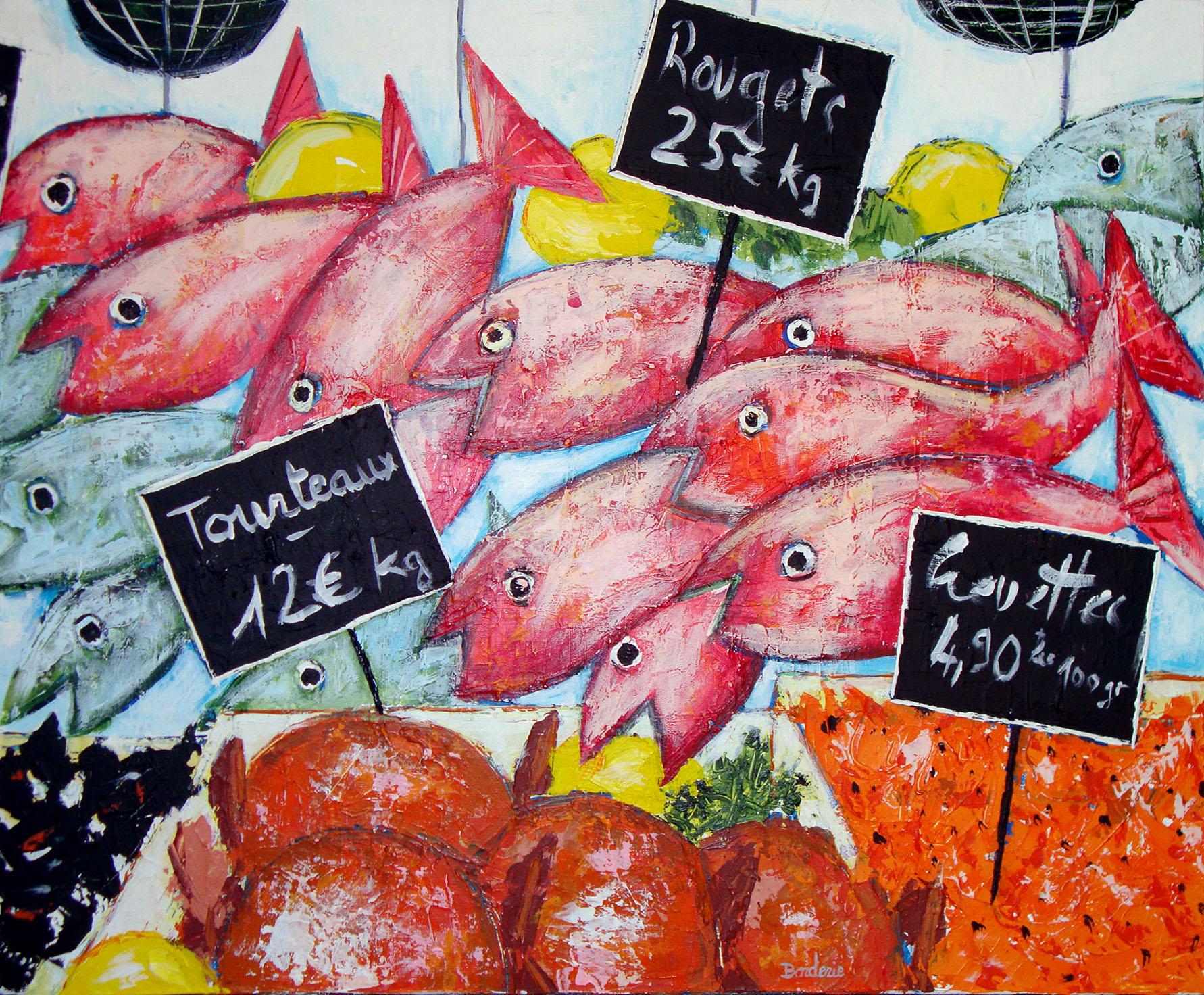 Etal de poissons