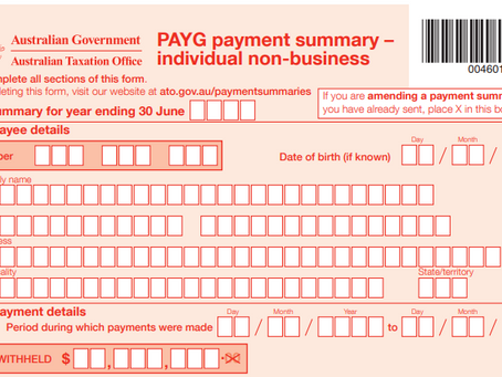 Payment Summaries are now called, Income Statements and are available on myGov.