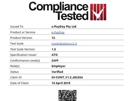SuperStream SAFF Bronze Certification