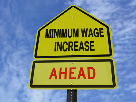 Fair Work Commission Annual Wage Review 2021 - Minimum Wage increased 2.5%.