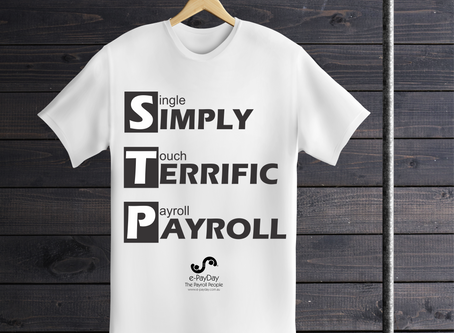 Wear the Single Touch Payroll Tee and and let people know just how Simply Terrific Payroll really is