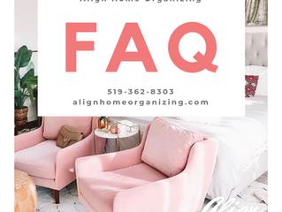 FAQ When Hiring Align Home Organizing