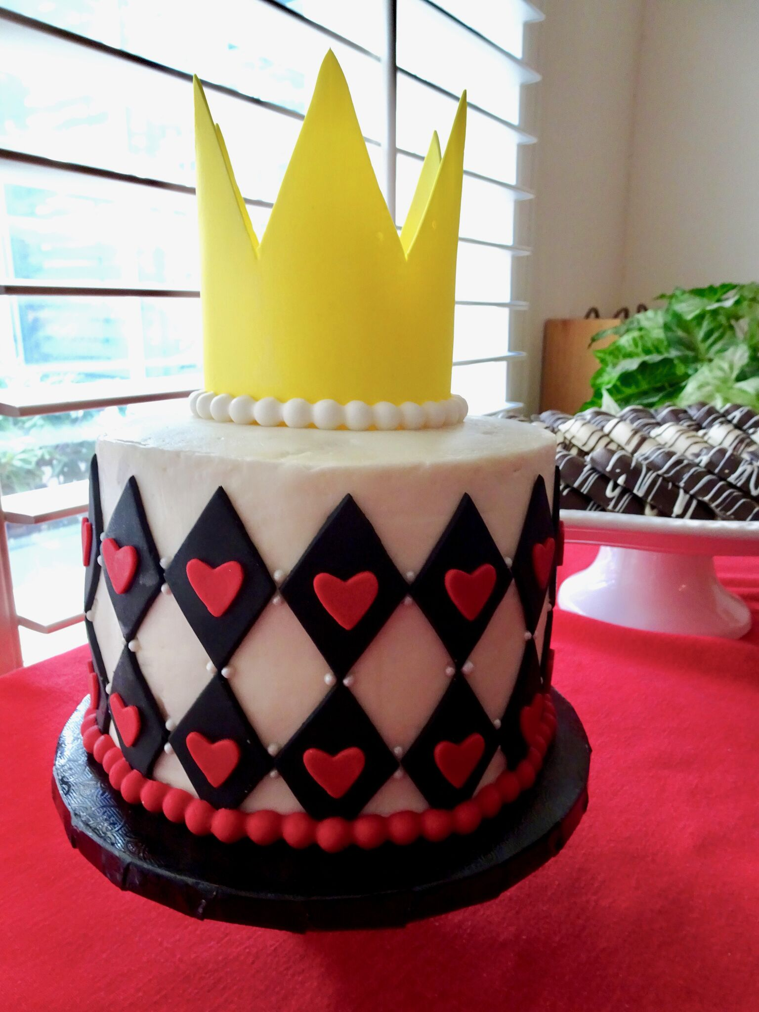 Queen of Hearts 1st Birthday