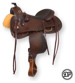 DP Flex Fit 2207 Western Saddle