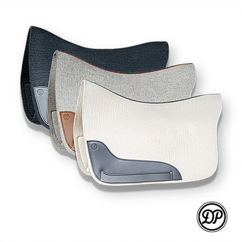 DP Wool Felt Baroque Saddle Pad