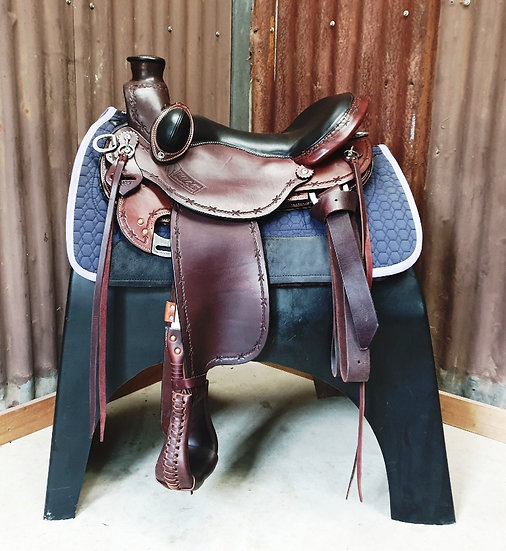 Used Kuda Rancher Flex Saddle