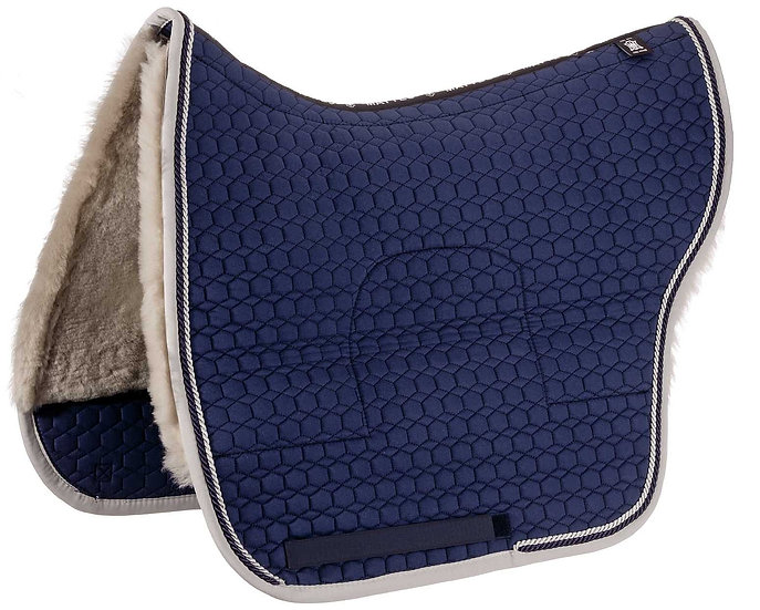 Mattes Spanish Saddle Pad + Sheepskin Panels