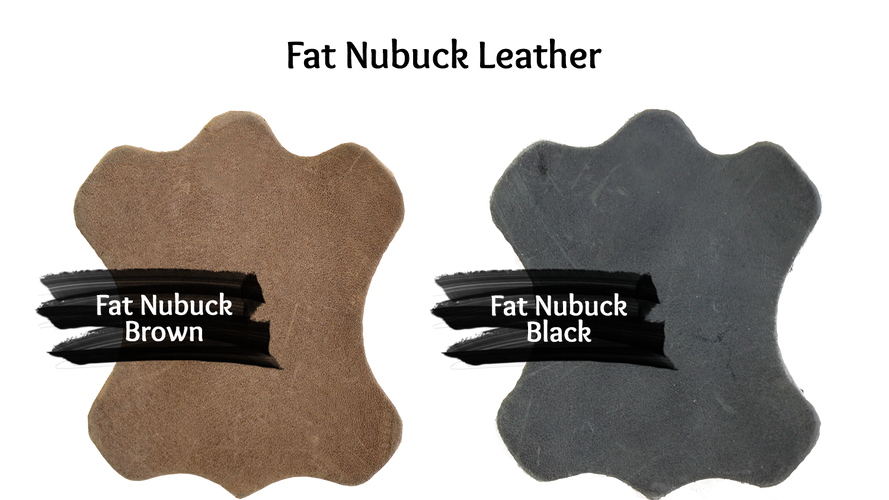 Fat Nubuck Leather Colours