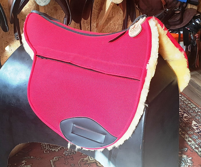 Ghost Buttera Saddle Pad with Inserts